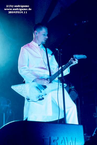 Oomph! Live on Stage - April 25th, 2004 in Cologne, Germany